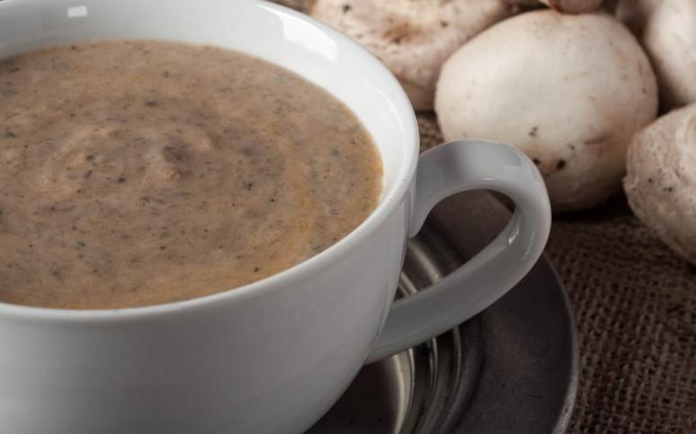 Meyer Lemon Tart,Mushroom Soup 2-7