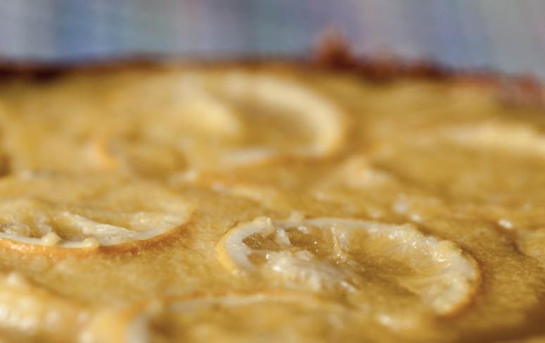 Meyer Lemon Tart,Mushroom Soup 3-4