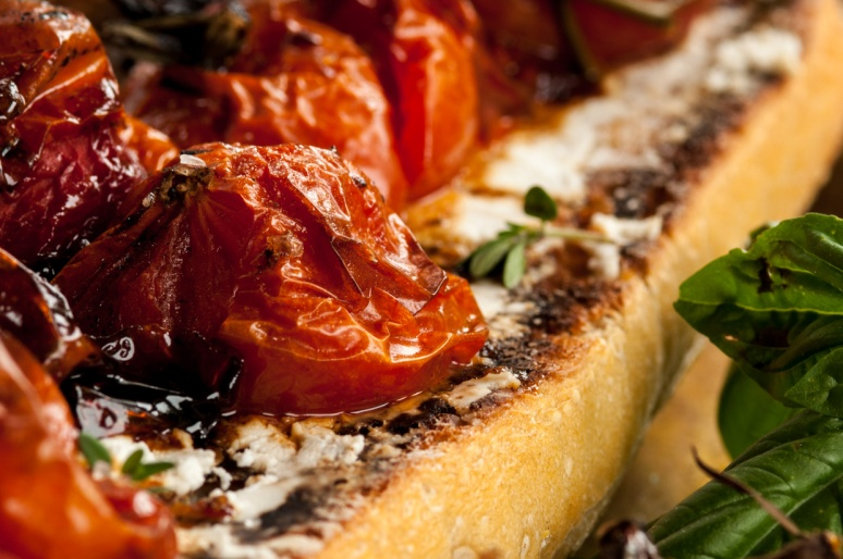 roasted tomatoe bread