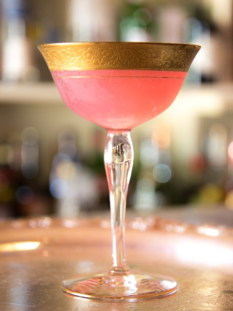 Pink Flamingo Martini